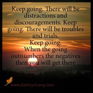 Quote of the Day - Outnumber the Negatives