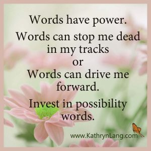 Quote of the Day - Words have Power