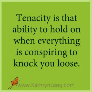 MAP IT OUT - Moment of HOPE - Tenacity