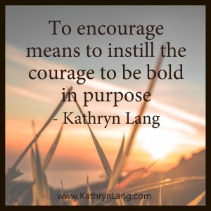 Quote of the Day - Instill Courage