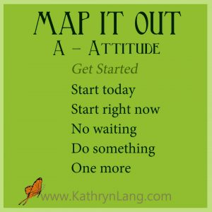 #GrowingHOPE - MAP IT OUT - Attitude - Get Started