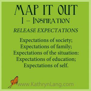 Growing HOPE - MAP IT OUT - Inspiration - Release Expectations