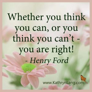Quote of the Day - Think you can - Henry Ford