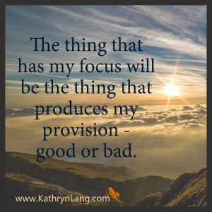 Gratitude Creates the Right Focus