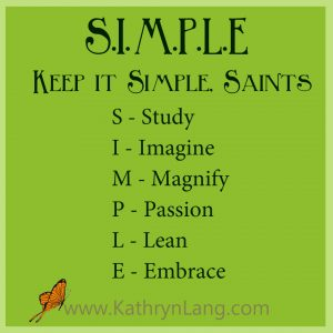 Keep It Simple Saints