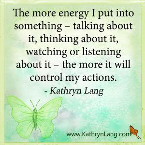 quote of the day- focus the energy