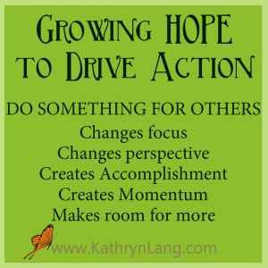 #GrowingHOPE Podcast - Do Something for Others