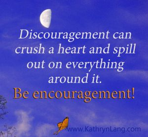 Quote of the Day with #GrowingHOPE - Be encouragement