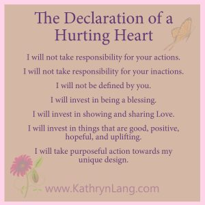 Declaration of a Hurting Heart