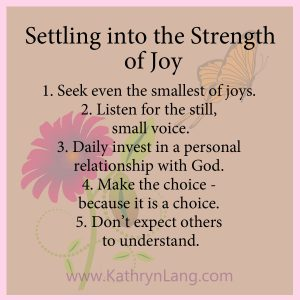 #GrowingHOPE - Strength of Joy