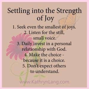 #GrowingHOPE - Strength of Joy
