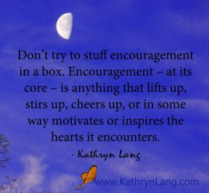 Image of: Inspirational Bright Moon Encouragement Simplified Kathryn Lang Quote Of The Day Make Encouragement Simple