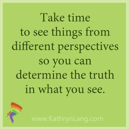 See from different perspectives