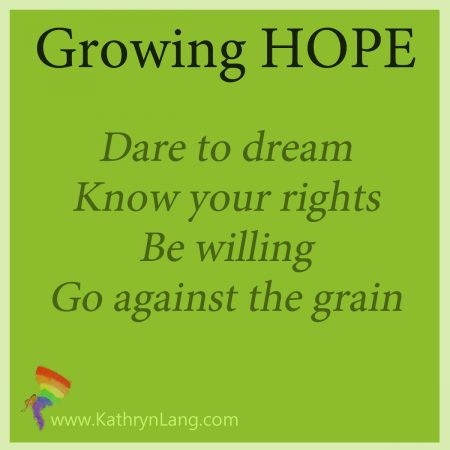 growing hope or just hoping