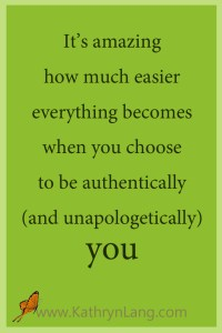 authentically you