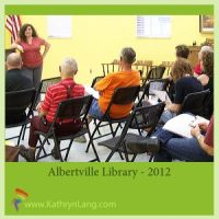 speaking albertville library 2012