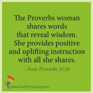 Proverbs reveals wisdom