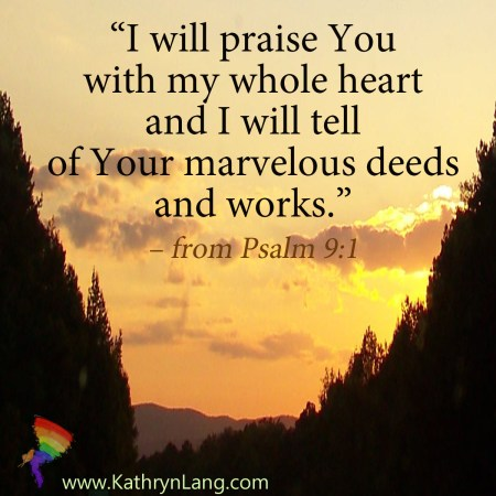 Scripture of the Day for July 2 2019 Psalm 9:1