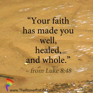 Scripture Focus - Luke 8:48