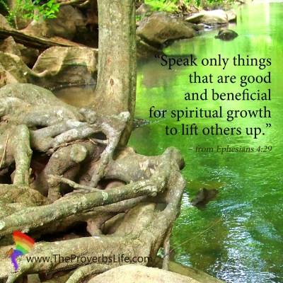 Scripture Focus - Ephesians 4:29