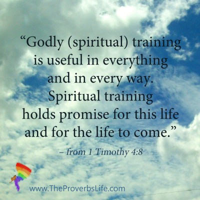 Scripture Focus - 1 Timothy 4:8