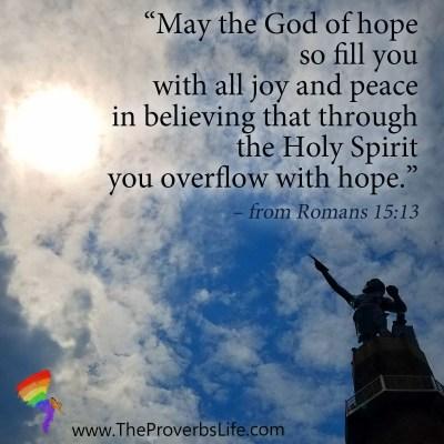 Scripture Focus - Romans 15:13