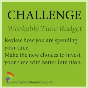 Challenge - Control your time