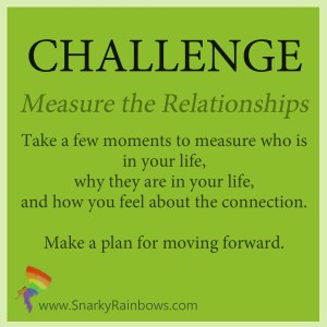 Daily Challenge - measure the relationships