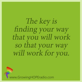 #GrowingHOPE quote -  find your way