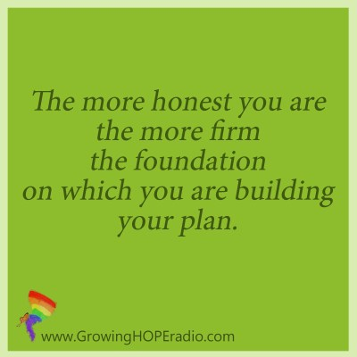 Growing HOPE podcast quote - set a firm foundation