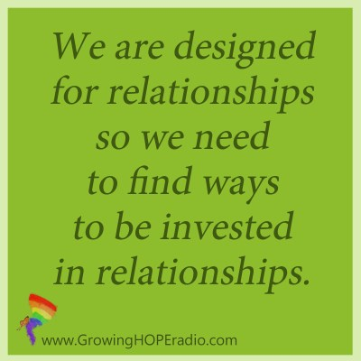 Growing HOPE Daily - quote - designed for relationships