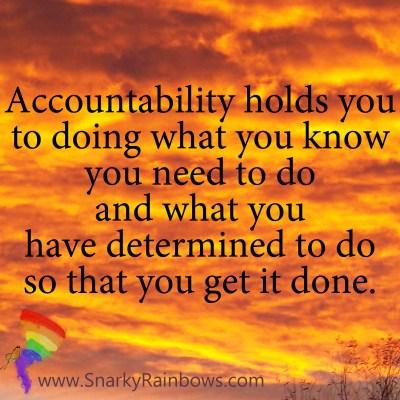 #Quoteoftheday - power of accountability