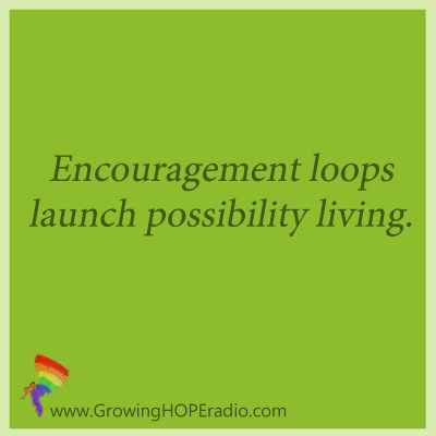Growing HOPE Daily - encouragement loops