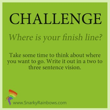 Daily Challenge - Oct 2 2019 - define the finish line