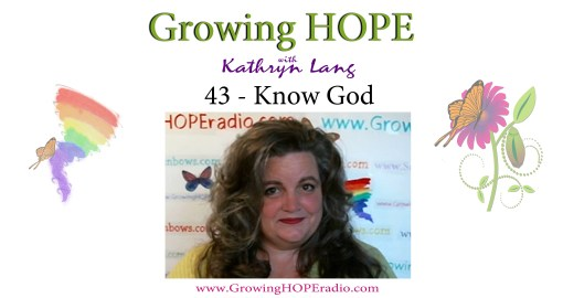 Growing HOPE Daily - 43 - God First