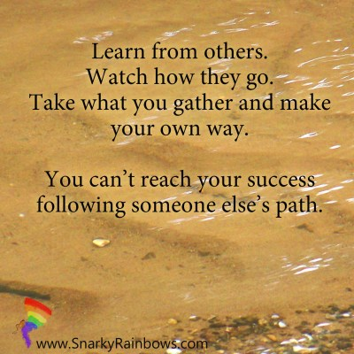 Quote of the Day - learn from others