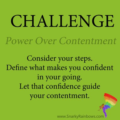 Daily Challenge for November 13 - power of contentment