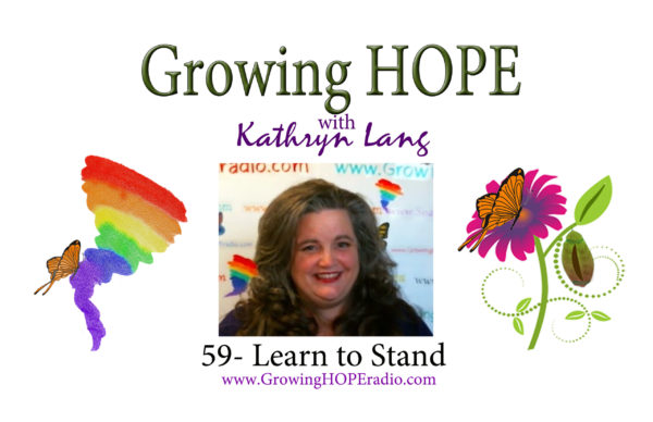 #GrowingHOPE Daily header - 59 - Learn to Stand