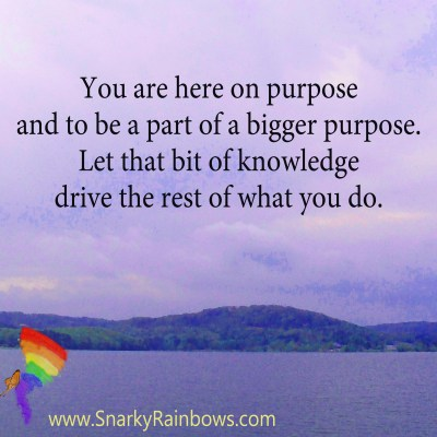 #QuoteoftheDay - you are here on purpose