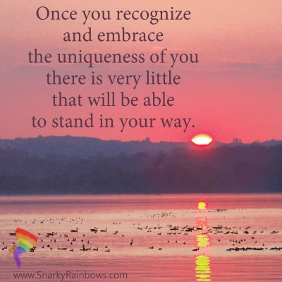 #QuoteoftheDay - uniqueness of you