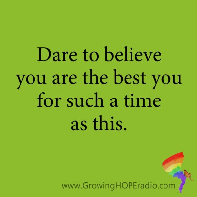#GrowingHOPE Daily - quote - best you