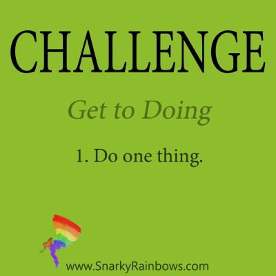 Daily Challenge for December 12 - Get to Doing