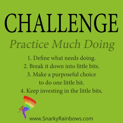 Daily Challenge - practice much doing