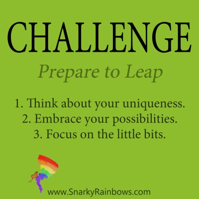 Daily Challenge - prepare to Leap