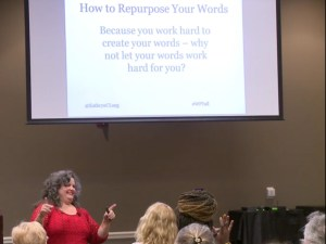 WordCamp 2018 - Repurpose your words