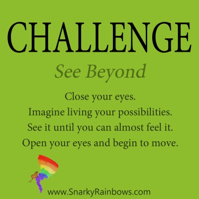 Daily Challenge - see beyond
