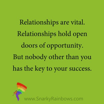 quote - relationships open doors