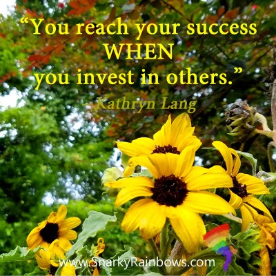 #QuoteoftheDay - invest in others