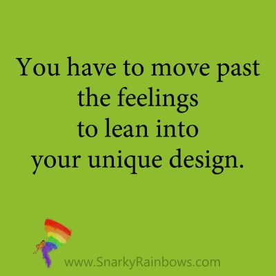 quote - move past trusting feelings