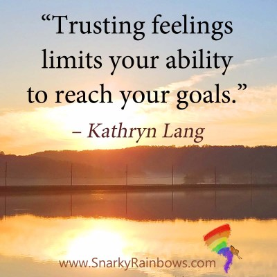 #QuoteoftheDay - trusting feelings